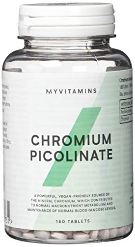 Myprotein Chromium Picolinate Trace Mineral 180 Tabletten, 1er Pack (1 x 60 g)