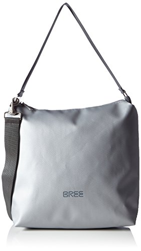 Pnch 702, chrome, cross shou. bag M W20 BREE Collection Unisex-Erwachsene